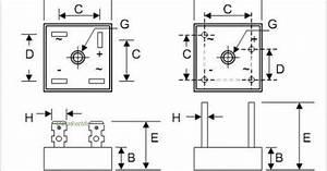 Kbpc5010 Bridge Rectifier Wiring Diagram Further Pont De Diode Large Choix De Produits  U00e0