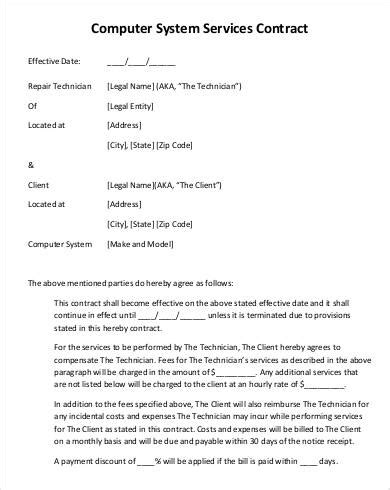 service contract template service contract template 20 free pdf documents free premium templates