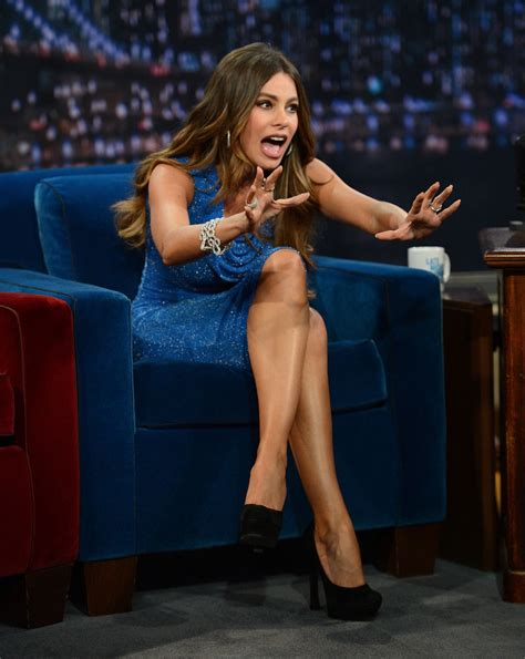 sofia vergara jimmy fallon sofia vergara visits quot late night with jimmy fallon quot zimbio