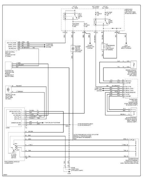 Wiring Diagram Ac Compressor by Need Wiring Diagram For Ac Compressor On 05 Gmc
