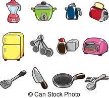 dessin anim cuisine dessin animé couteau cuisine clip vectoriel