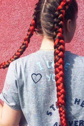 braided kanekalon hair  perfect summer lovehairstyles