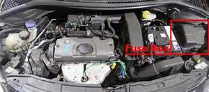Fuse Box Diagram Peugeot 207  2006