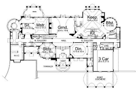 chateau floor plans chateau de la ravinere 6037 5 bedrooms and 4 baths the