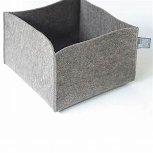 Aufbewahrung Für Bettdecken : filzkorb grau braun filzk rbe aufbewahrungsk rbe tuchmacherin ~ Markanthonyermac.com Haus und Dekorationen