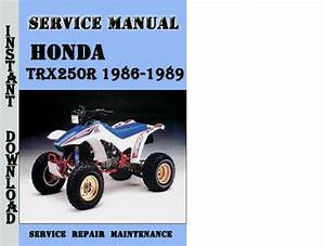 Honda Trx250r 1986