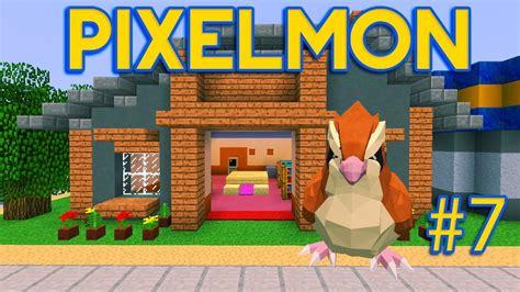 minecraft pixelmon adventures ep  trainer house showdown youtube