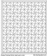 Quilt Block Coloring Pattern Template Crazy Quilting sketch template