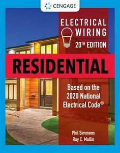 Electrical Wiring Residential By Ray Mullin  English