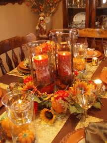 gorgeous and awesome thanksgiving table centerpieces