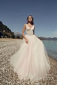 lanesta 2017 quotheart of the oceanquot bridal elegantweddingca With ocean wedding dress