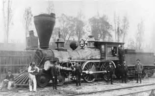 First Steam Engine Locomotive