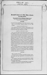 Fair Labor Standards Act of 1938: Workers rights - Home