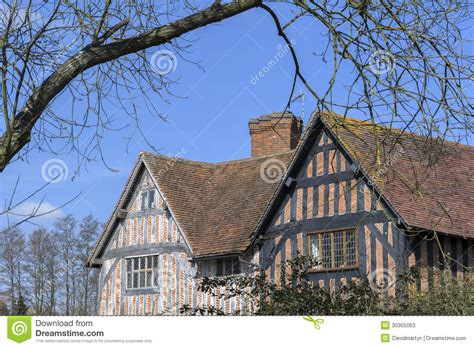 half timbered house plans housing stock photos image 30305063