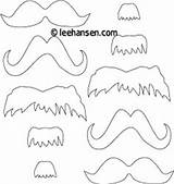 Coloring Mustaches Mustache Dr Mask Printable Seuss Masks Beard Templates Sheet Printables Patterns Pages Cut Costumes Costume Craft Leehansen Pattern sketch template