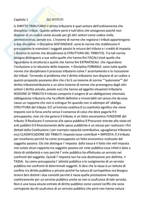 dispensa di diritto tributario riassunto esame di diritto tributario prof fava libro