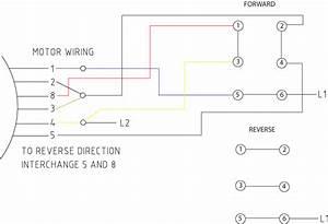 Wiring Diagram For Forward Reverse Single Phase Motor