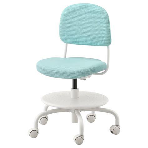 vimund childs desk chair light turquoise ikea