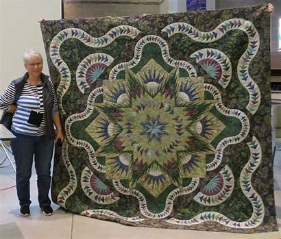 Quilt Sunset Quilters Slope Winners Choice Viewers