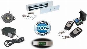 toledo es 600 commercial electric magnetic lock rf With buzz in door lock