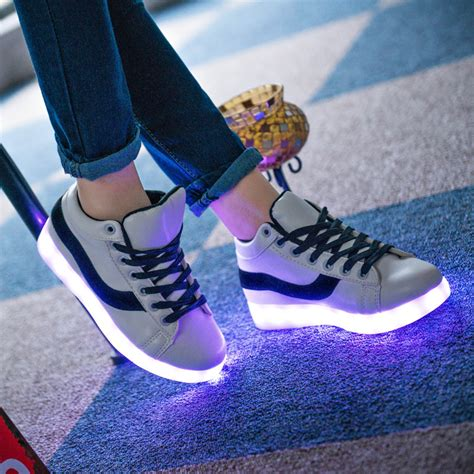 light up sneakers for adults 2015 led shoes for adults fashion light up sneakers
