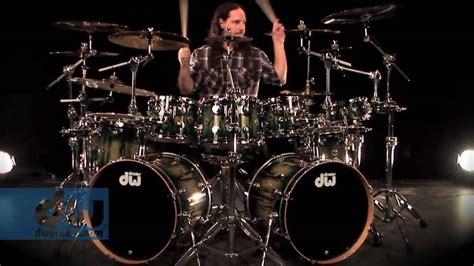 Derek Roddy Plays Dw Collector's Series Drums