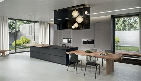modern kitchen island table sophisticated contemporary kitchens with cutting edge design 7719