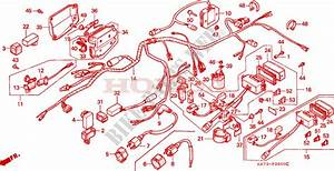Wire Harness For Honda Fourtrax 350 1992   Honda