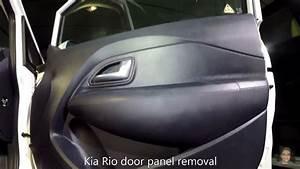 Kia Rio 2011 U20132017 Door Panel Removal