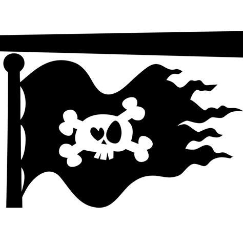 citation pour cuisine sticker design drapeau pirate