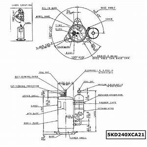 Panasonic Dc Compressor R410a Rotary Compressor Dc Inverter