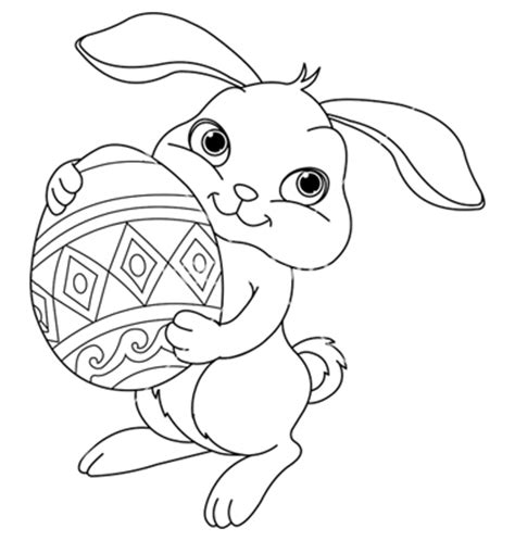 easter bunny coloring pages coloring pages of easter bunny color bros