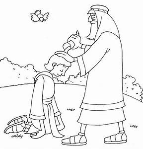 King Saul And Samuel Coloring Page Kids Creek