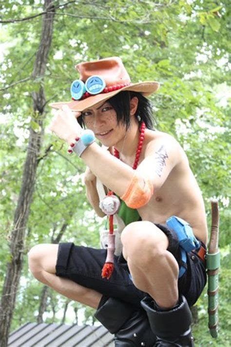 cosplay piece ace anime luffy vol1 peace male costumes portgas awesome cool movie