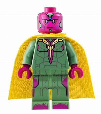 Vision Lego Marvel Dimensions Mcu Minifigure Brickipedia