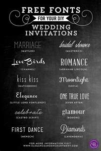 wedding font gallery rustic wedding invitation fonts