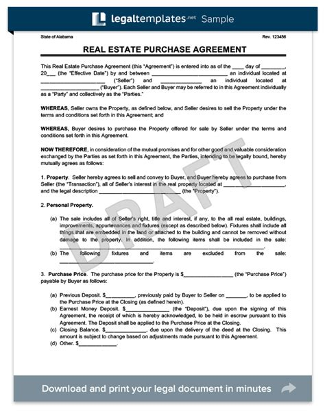 ca purchase agreement form real estate purchase agreement create a free agreement