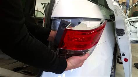 replace rear taillight brake light bulb turn