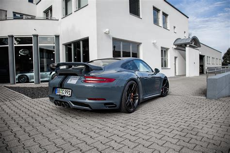 Techart 9912 Demo Car With New Fixed Rear Wing Ii