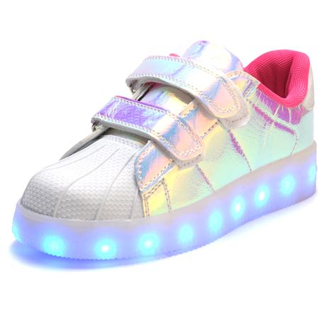 kids sneakers with lights fashion children led light up shoes for kids sneakers