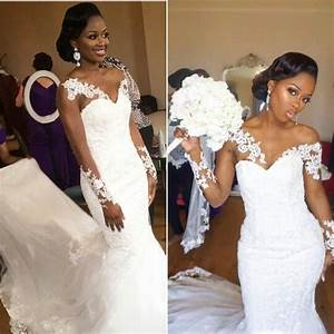 2017 elegant african american black girl wedding dress With wedding dresses for black brides