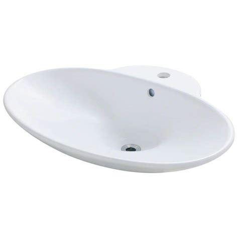 porcelain vessel sink home depot polaris sinks porcelain vessel sink in white p062v w the