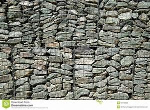 Mur En Gabion : fond de mur de gabion photo stock image 10716620 ~ Premium-room.com Idées de Décoration