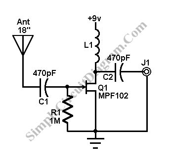 Antenna Booster For Receiver Simple