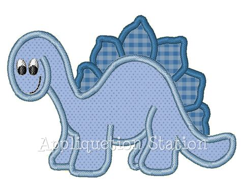 applique embroidery designs dinosaur boys applique machine embroidery design pattern