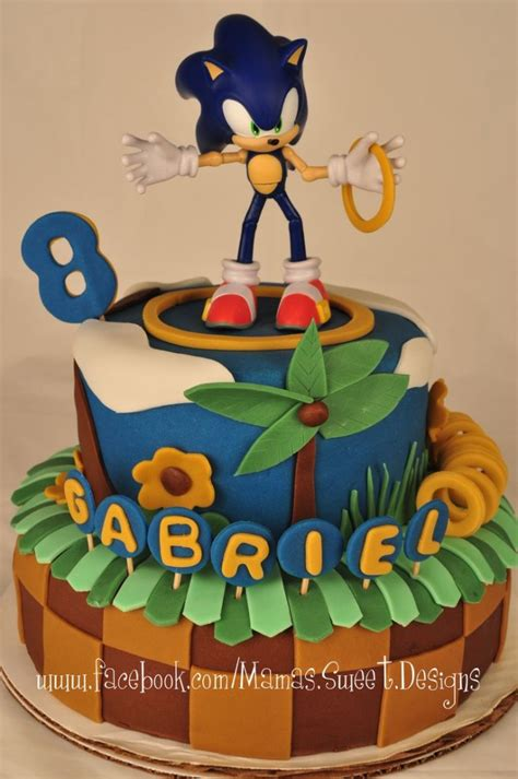 sonic  hedgehog cake ideas sonic themed cakes
