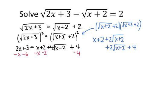 Worksheets Solving Radical Equations Opossumsoft Worksheets And Printables