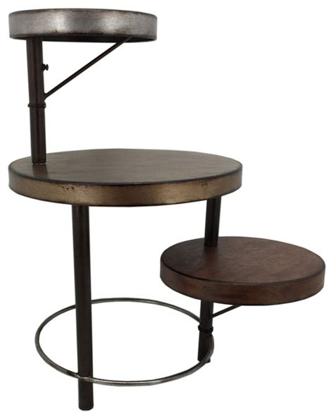 multi level coffee table multi level wooden table brown coffee tables by