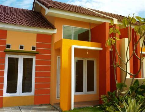 warna cat rumah minimalis  tampak elegan modern
