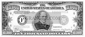 Image Of Currency  10 000 Dollar Bill